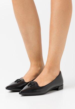 ALINA - Slip-ons - black