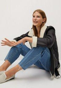 Mango - ADRI-I - Faux leather jacket - black - 5