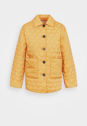 INDOOR QUILTED - Light jacket - orange