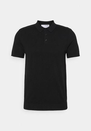 SLHBERG - Polo shirt - black