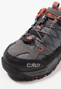 CMP - KIDS RIGEL LOW SHOE WP - Hiking shoes - stone/orange - 2