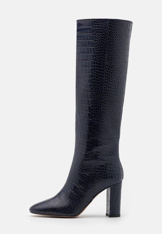 CAVALIER - High heeled boots - bleu