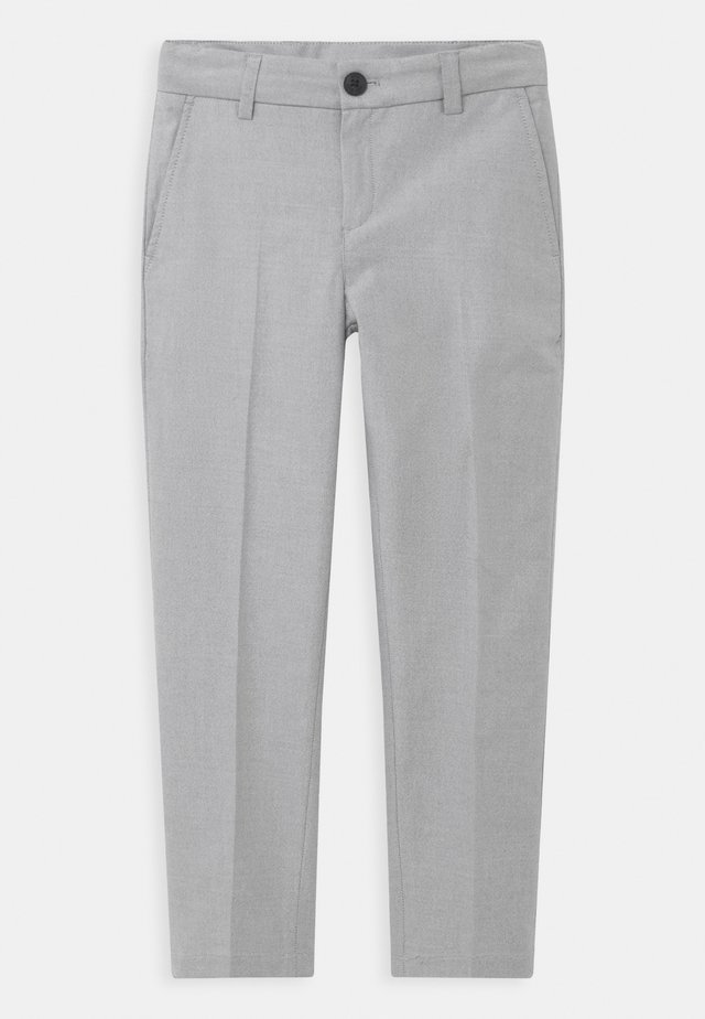 CEREMONY - Suit trousers - mottled light grey