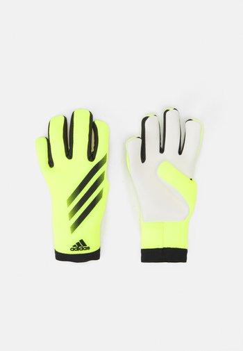 UNISEX - Goalkeeping gloves - shock yellow/black/black