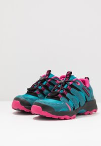 LICO - FREMONT - Sneakers laag - petrol/pink/schwarz - 3