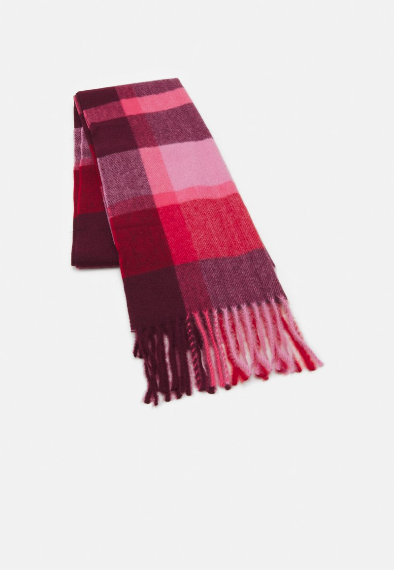Marks & Spencer London - NEW OPP CHECK - Scarf - mulberry mix
