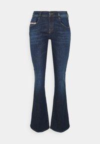 Diesel - D-EBBEY - Bootcut jeans - denim blue - 0