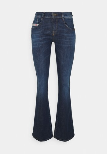 D-EBBEY - Bootcut jeans - denim blue