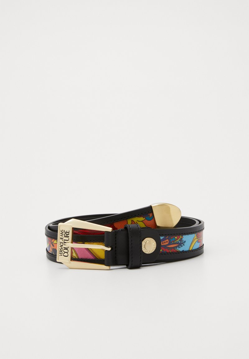 Versace Jeans Couture - LOGO BELT PIN BUCKLE - Belt - multi-coloured