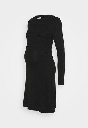 NURSING DRESS - Jerseyjurk - black