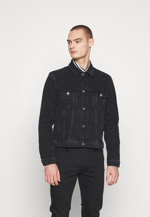 LAUST JACKET - Giacca di jeans - black rock