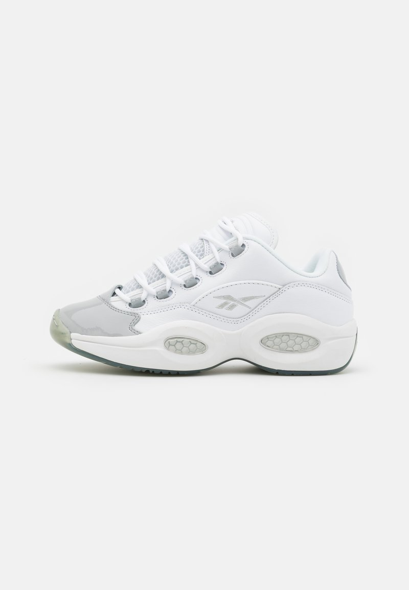 Reebok Classic - QUESTION LOW - Trainers - footwear white/pure grey 3/pure grey 2