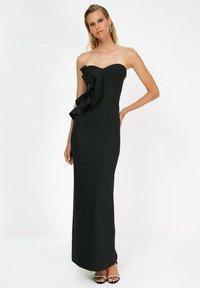 Trendyol - PARENT - Vestido de fiesta - black - 1