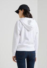 Polo Ralph Lauren - SEASONAL - Zip-up hoodie - white - 2