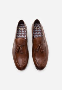 Walk London - TERRY TASSEL LOAFER - Smart slip-ons - brown - 3