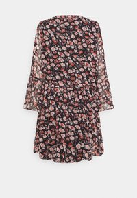 JDY - JDYKYLIE SHORT DRESS - Denní šaty - black/pastel rose - 1