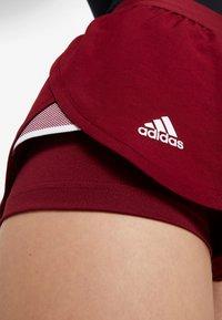 adidas Performance - CLUB SHORT - Sports shorts - burgunder - 5