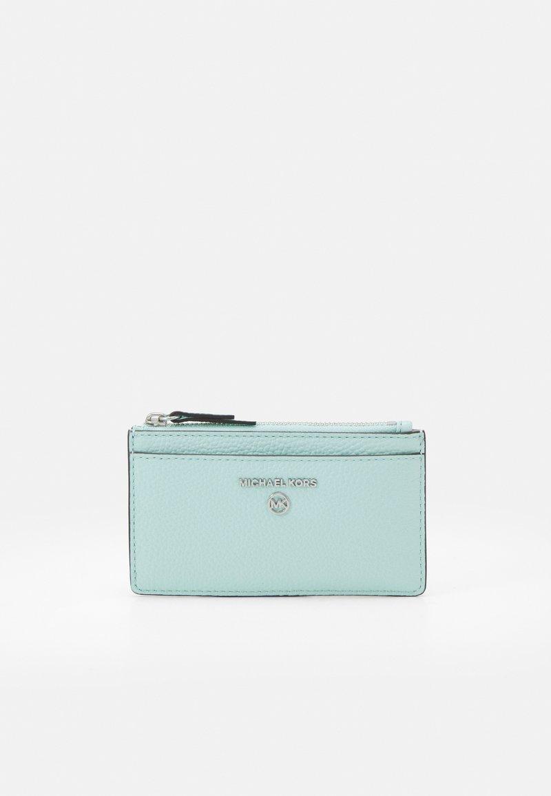 MICHAEL Michael Kors - JET SET CHARM SLIM CARD CASE - Wallet - fair aqua