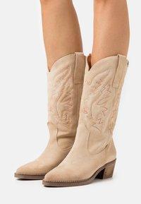 mtng - TEO - Cowboy/Biker boots - afelpado arena - 0