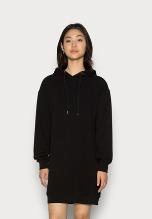 IMA HOOD DRESS - Day dress - black