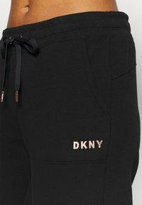 DKNY - LOGO JOGGER - Tracksuit bottoms - black - 5