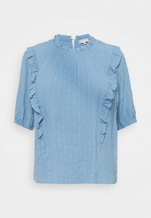 ENGA BLOUSE - Blouse - dusty blue