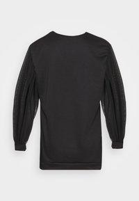 Missguided Petite - TULLE SLEEVE  - Sweatshirt - black - 8
