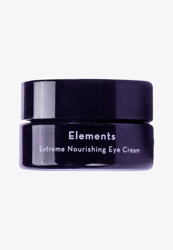 EYE CREAM ELEMENTS EXTREME NOURISHING ORGANIC EYE CREAM - Eyecare - -