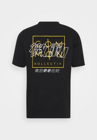 Common Kollectiv - JAPAN TEE UNISEX - Print T-shirt - black - 7