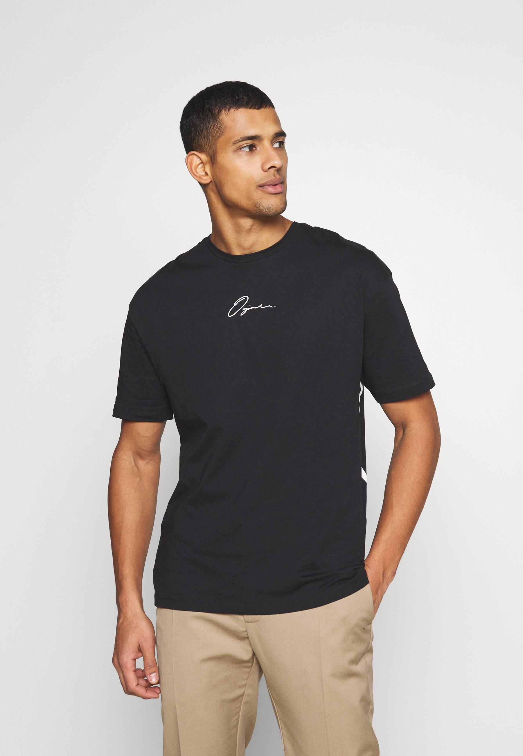 Men JORSCRIPTT TEE CREW NECK - Print T-shirt