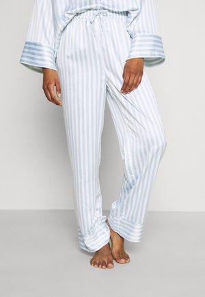 HANNA OVERSIZED TROUSERS - Spodnji del pižame - light blue