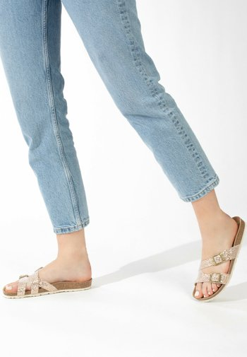 CLEO - Slippers - rose gold