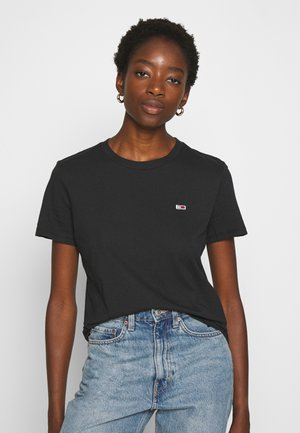REGULAR C NECK - Camiseta básica - black