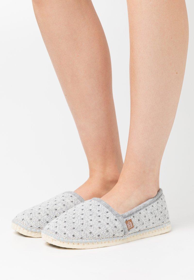 Espadrij l´originale - PANTOUFLE CLASSIC COUER - Hausschuh - gris
