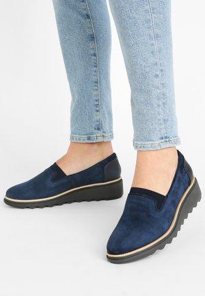 SHARON DOLLY - Slip-ons - blue