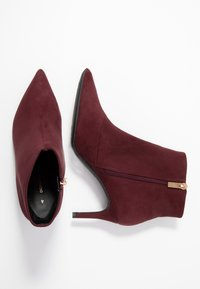 Dorothy Perkins - ALEXI SHOE POINT - Ankle boots - burgundy - 3