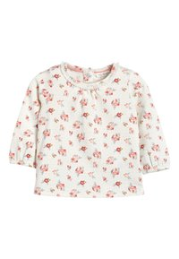 Next - ECRU/PINK 3 PACK DUCK AND FLORAL T-SHIRTS (0MTHS-3YRS) - Longsleeve - pink - 3