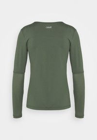 Casall - ICONIC - Long sleeved top - northern green - 1