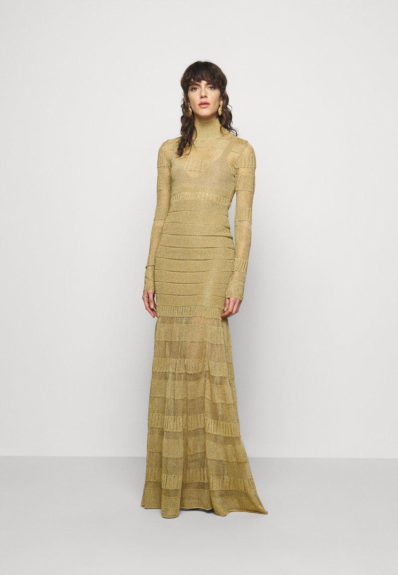 Hervé Léger - GOWN - Occasion wear - gold-coloured
