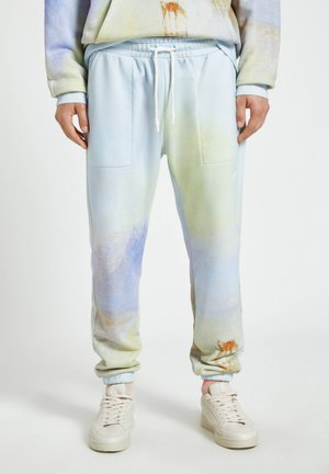 Pantalon de survêtement - mottled blue