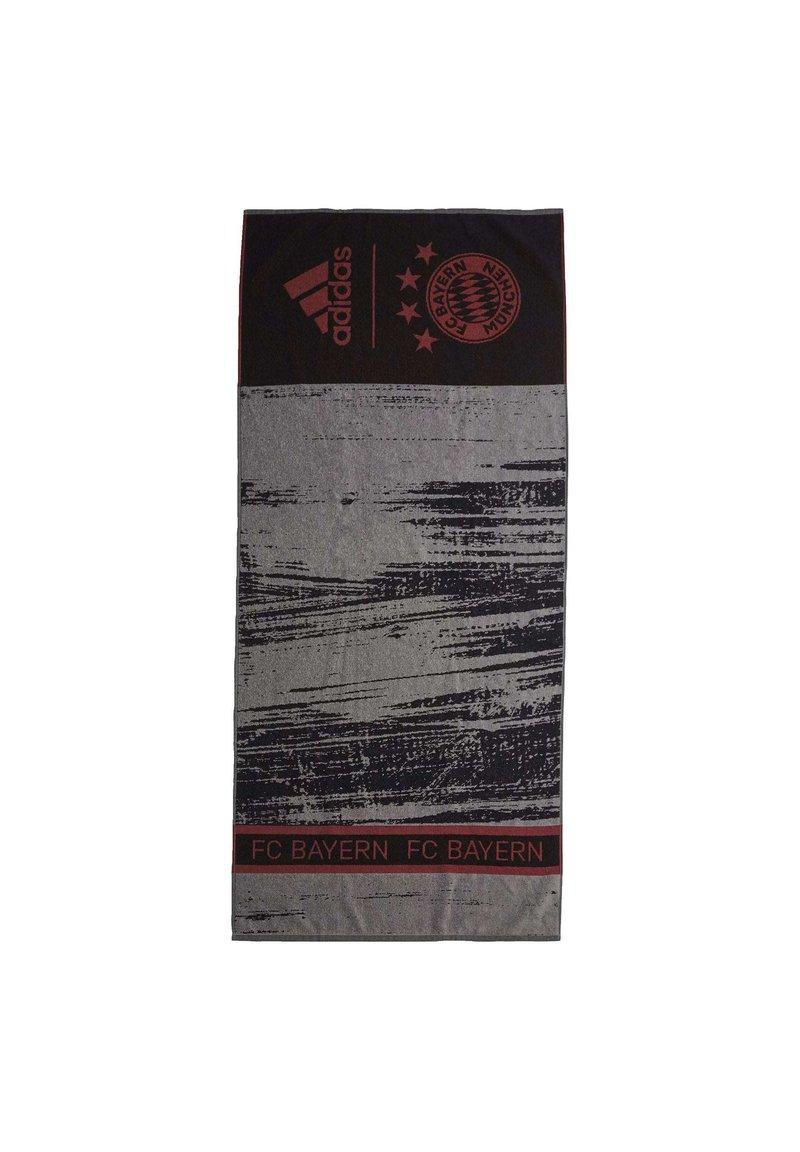adidas Performance - FC BAYERN MUNICH COTTON TOWEL - Håndkle - black