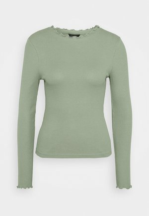 BABYLOCK TEE - Top s dlouhým rukávem - light green