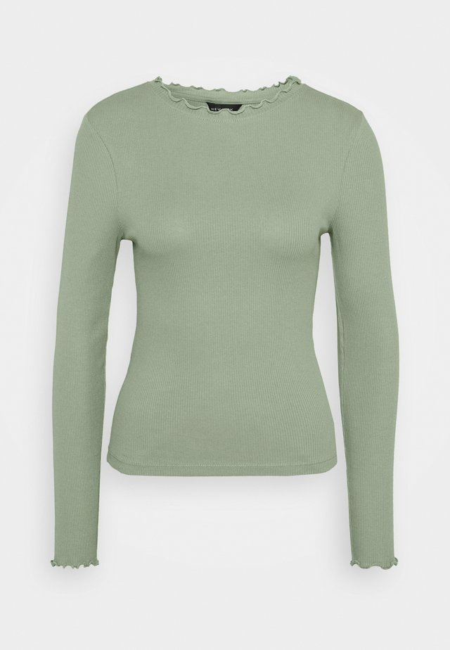 BABYLOCK TEE - Long sleeved top - light green