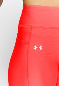 Under Armour - UA HG ARMOUR SPORT LEGGINGS - Punčochy - red/halo gray/metallic silver - 5