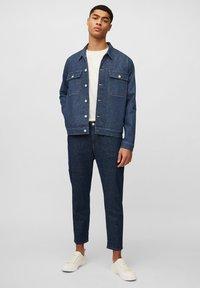 Marc O'Polo DENIM - Denim jacket - multi/neppy blue raw - 1