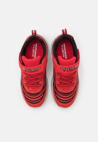 Skechers - MAGNA LIGHTS BOZLER - Trainers - red/black - 3