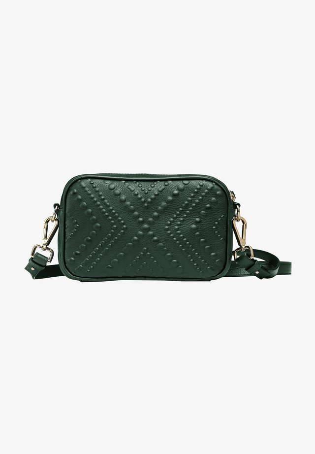 Across body bag - emerald