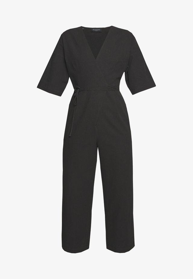 SLFMALVINA - Tuta jumpsuit - black