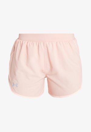 FLY BY SHORT - Pantalón corto de deporte - calla/peach frost