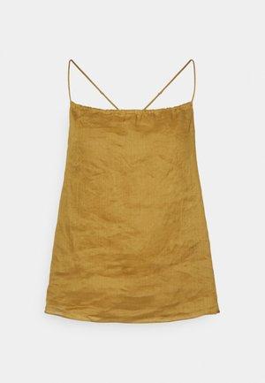 STRAPPY CAMI - Top - wild mustard